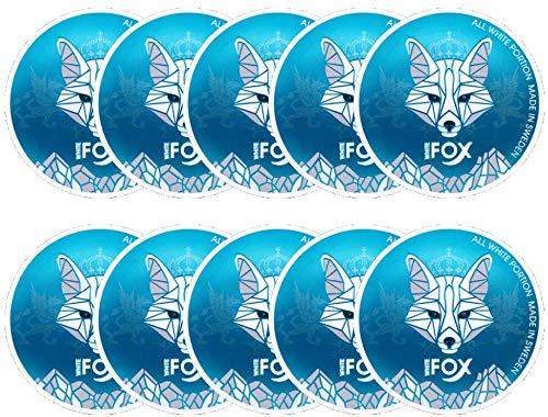 White Fox - Nikotinbeutel - Snus - All White Portions