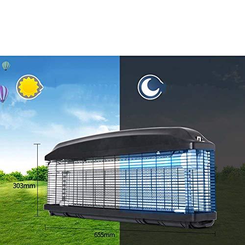 DDI Asesino de Mosquitos al Aire Libre LED Aspirador de Mosquitos al Aire Libre Trampa para Moscas Impermeable Trampa para Mosquitos Patio Grande Control de plagas Trampa Electrónica-3