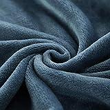 XUMINGLSJ Mantas para Sofás de Franela- Manta para Cama Reversible de 100% Microfibre Extra Suave -Armada_100 × 100 cm