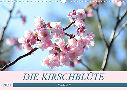 Die Kirschblüte in Japan (Wandkalender 2021 DIN A3 quer)
