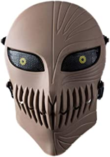 Happy nest Outdoor Games Costume Resin Mask Ventilate Protective Face Mask Protective Mask