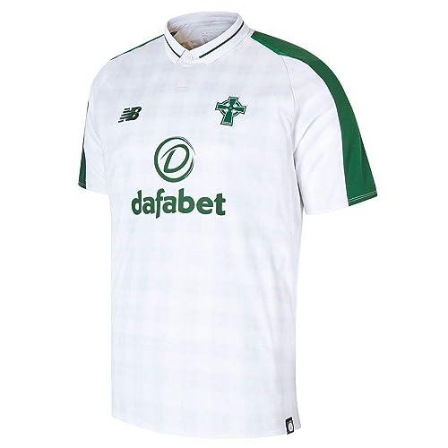 98a3209598a New Balance Men's Celtic Fc Away Short Sleeve Jersey