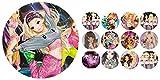 Tortenaufleger + 12 x Muffinaufleger Tortenfoto Aufleger Foto Bild TopModel (dance2 + mix1) *NEU*OVP*