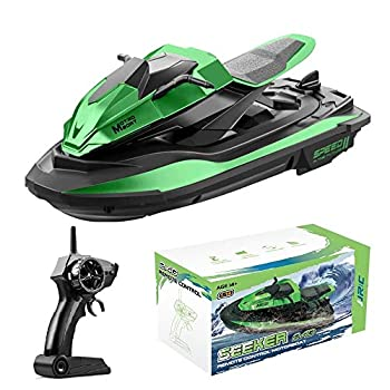 RC Boat Remote Control Boat for Kids and Adults Adventure Racing Boats for Pools and Lakes Remote Control Motor Boats Toys Gifts for Boys Girls