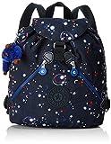 Kipling Damen Bustling Rucksack, Mehrfarbig (Galaxy Party), 27x32.5x13 cm