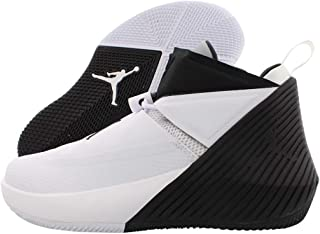 white and black jordans for kids