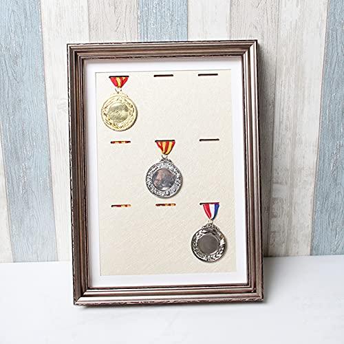 ABCSS Marco de exhibición de medallas de maratón,Expositor de medallas,Utilizado para la recolección y Almacenamiento de medallas e Insignias de Honor,una Variedad de Colores Disponibles