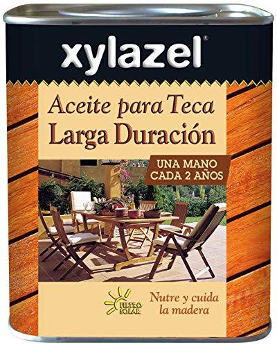 Xylazel M105467 - Aceite teka de larga duración teca 750ml