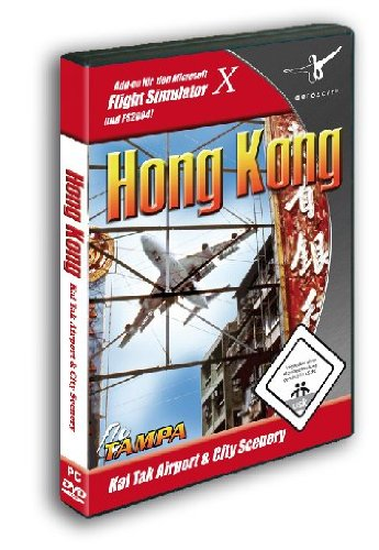 Flight Simulator X - Hong Kong City & Kai Tak Airport (Add-on) (PC) (輸入版)