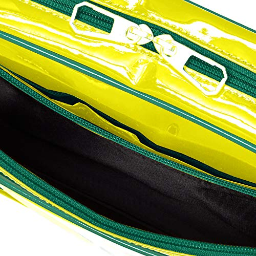 PUMA(プーマ)『横型エナメルミニショルダーバッグ(J20072)』