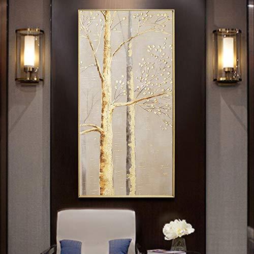Dao Jinshu olieverfschilderij canvas groot palet modern woonkamer wandschilderij zonder lijst schilderij