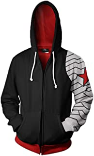 Best winter soldier unisex hoodie Reviews