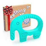 Baby Teething Toys - BPA Free Silicone Toy - Cute, Easy to Hold, Soft...
