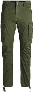 JACK & JONES Men's Jjidrake Jjchop Akm 574 F Night Noos Trouser, Green (Forest Night), W32/L34 (Manufacturer size: 32)