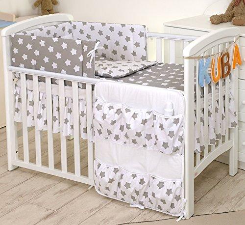 5-teiliges Babybett-Set Protektor,...
