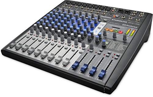 Presonus SLMAR12 Studio Live AR12 USB 14-Channel Hybrid Performance & Recording Mixer