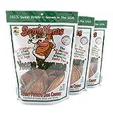 Sam's Yams Sweet Potato Dog Chewz 14oz Bags-Veggie Rawhide,3-Pack...