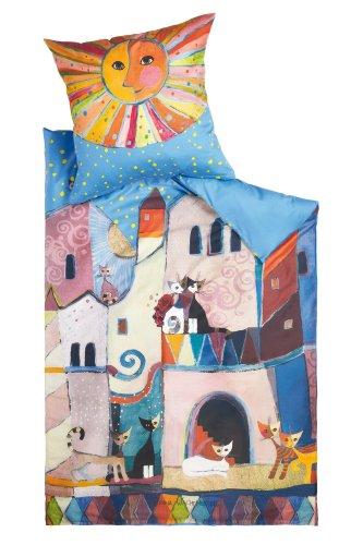 Rosina Wachtmeister Bettwäsche Little Town 135x200 cm + 80x80 cm