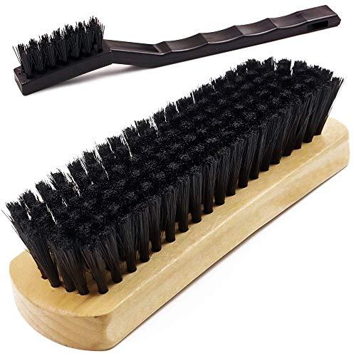TAKAVU Leather & Textile Cleaning Brush, Durable Soft Nylon Bristles,...