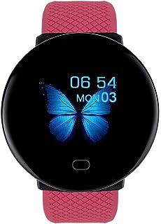 Eariy D19 BT4.0 Smart Watch, monitor de sueño, pulsera impermeable, reloj deportivo con podómetro, para hombre y mujer