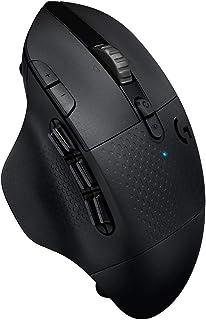 Logitech G604 Lightspeed Ratón Gaming Inalámbrico, Sensor Hero 16K, Batería 140h, Compatible con PC/Mac, Negro
