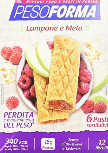 Biscotti Lampone e Mela - Confezione da 12 Biscotti