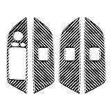 HuangjinyeTY Cubierta de Ajuste de botón de Interruptor de elevación de Ventana de Fibra de Carbono para BMW E84 X1 11-15 RHD