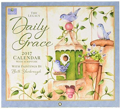 Legacy Publishing Group 2017 Wall Calendar, Daily Grace