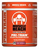 Muscle Beach Nutrition Pre-Train Powder - Pre Workouts Nitrate Supplement Without Creatine | Boosts...
