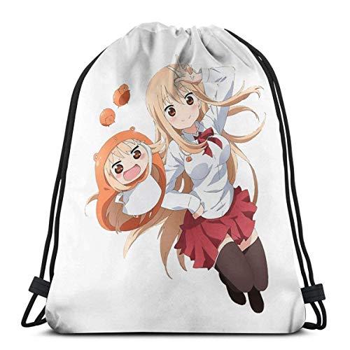 OPLKJ Yuri Kuma Arashi Sport Bag Mochila con cordón de saco de gimnasio