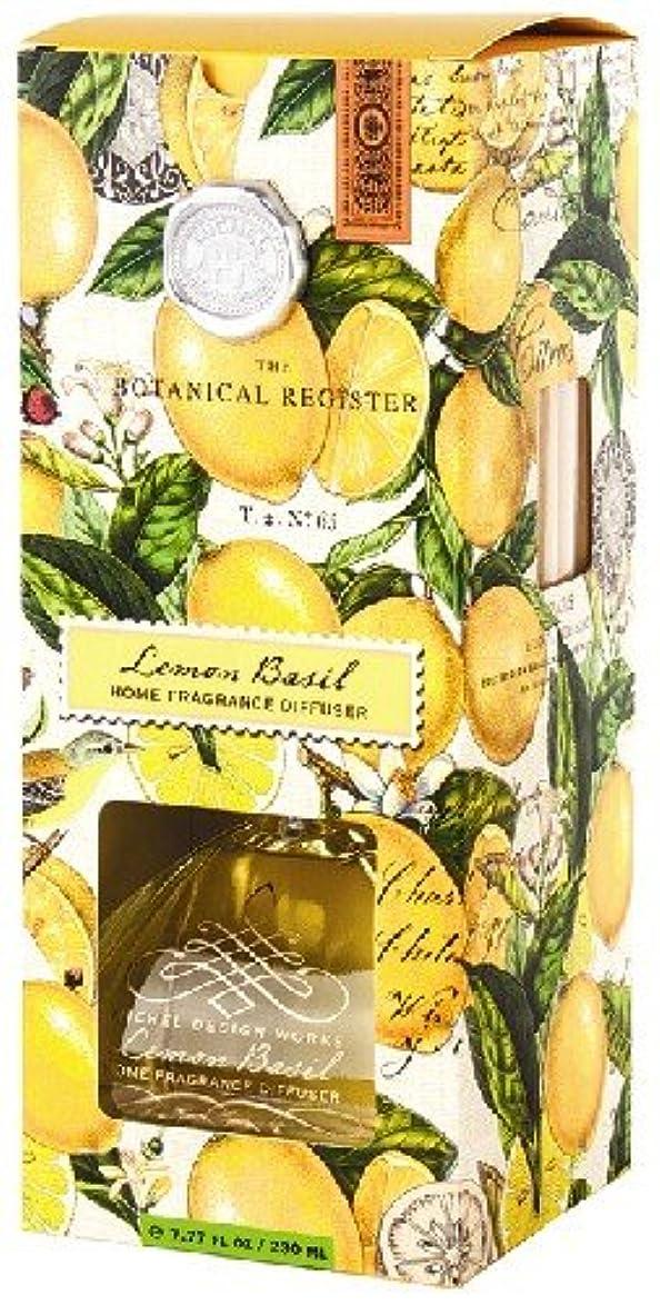 くく敵対的ミッシェルデザインワークスルームフレグランスディフューザー【レモンバジル】香り:フレッシュレモン&バジル