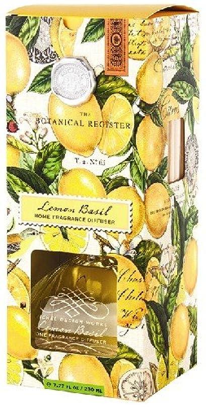 イタリアの集中封筒ミッシェルデザインワークスルームフレグランスディフューザー【レモンバジル】香り:フレッシュレモン&バジル