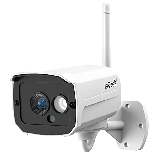 ae8a510ae ieGeek Security WiFi CCTV Outdoor IP Camera 1080P FHD Wireless Waterproof  Surveillance Bullet Camera