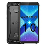 Blackview BV5500 Plus, Unlocked Rugged Smartphones, 5.5 inch, 3GB+32GB+128GB Expandable, 4G LTE GSM, Android 10, NFC, face Unlock, WiFi Calling, Unlocked for at&t, Unlocked for tmobile (Black)