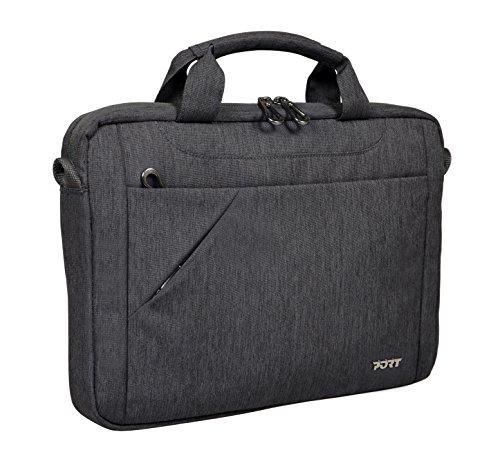 PORT DESIGNS Sydney Toploading 13/14 \'\' Laptop-Tasche und 10,1 \'\' Tablet, Grau