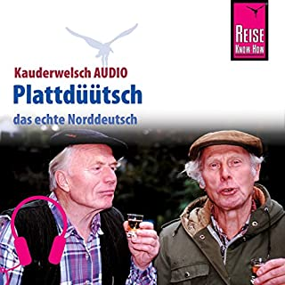 Plattdüütsch (Reise Know-How Kauderwelsch AUDIO) Titelbild