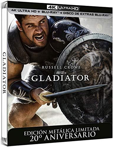Gladiator - Edición Especial Metal (4K + BD + BD Extras) [Blu-ray]
