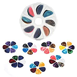Tifanso Colorful Plectrums for Ukulele - Best Ukulele Picks