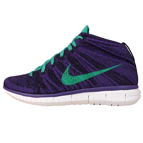 Violet Nike Free Flyknit Chukka 'Purple Green' (639699-500) 38,5 - -