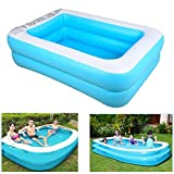 mandii Thickened Environmental Protection Inflatable Baby Swimming Pool Kiddie Pools