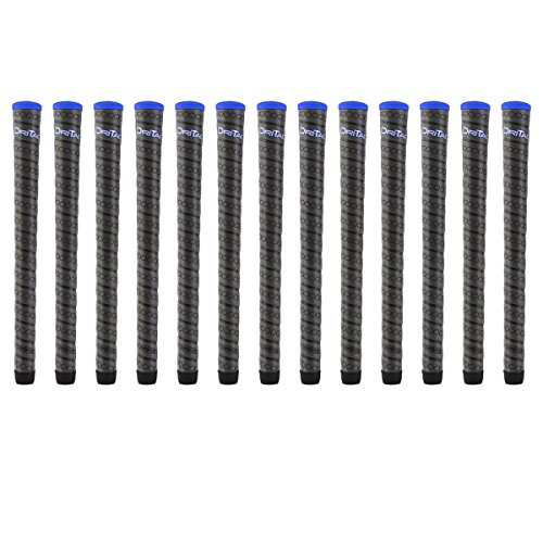Winn Dri-Tac Wrap Midsize (+1/16 Inch) 13 Piece Golf Grip Bundle (
