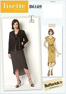 asymmetric dress sewing pattern