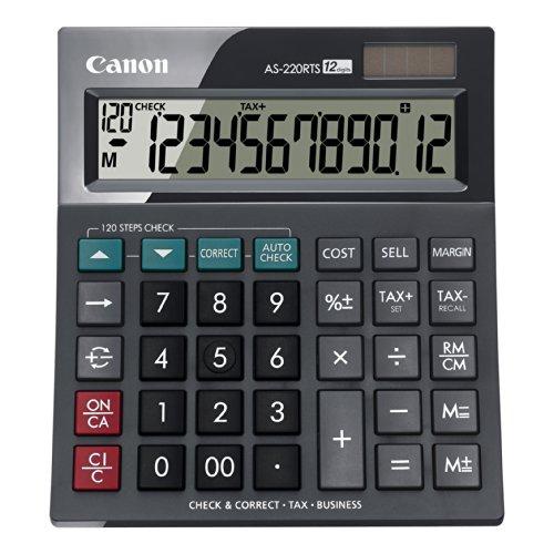 Canon AS 220 RTS Calculatrice de Bureau