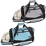 Veluoess Sporttasche Reisetasche 35L Schuhfach Wasserdicht Fitness Trainingstasche Gym Sport Handgepäck Übernacht Wochenende Umhängetasche Reisegepäck Schulterriemen Blau oder Grau (Zufällige Farbe)