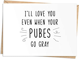 Funny Birthday, Anniversary, or Valentine's Day Card - Naughty Card for Him or Her