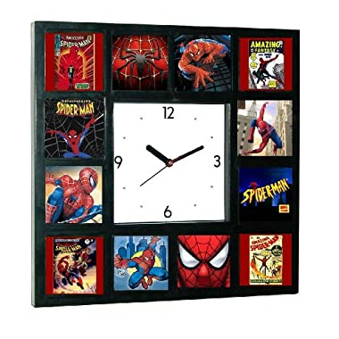 History of Spider-man Tv Show Spiderman Comics Movies Clock