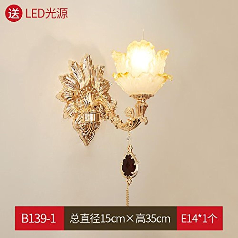 StiefelU LED Franzsische crystal Passage Korridor Schlafzimmer Nachttisch Lampen stimmungsvolles, einem Kopf + hohe - Ende der LED-Lichtquelle