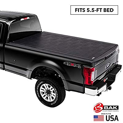 """BAK Revolver X2 Hard Rolling Truck Bed Tonneau Cover   39307   Fits 2004-14 Ford F150 6'6"""" Bed"""