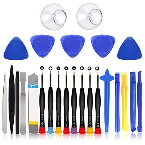 Herramienta de Reparación de Teléfonos LLMZ Repair Tools 25 en 1 Apertura de Teléfono Móvil Reparación del kit de Teléfono Desmontar
