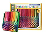Harrisville Designs 7' Potholder (Traditional Size) Deluxe Loom Kit, Makes 6 Potholders